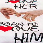 3D луксозен спален комплект BORN TO LOVE