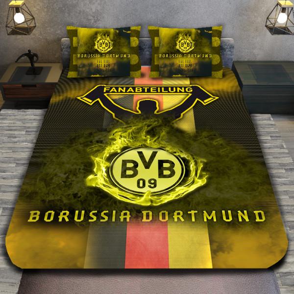 3D луксозен спален комплект BORUSSIA DORTMUND