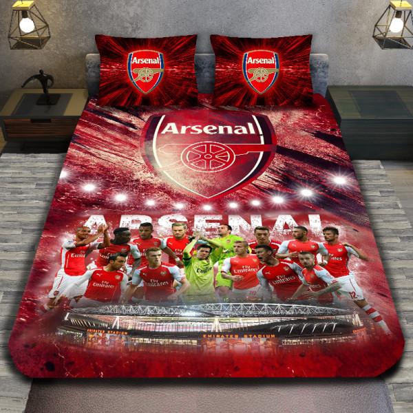 3D луксозен спален комплект FC Arsenal