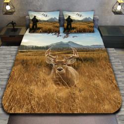 3D луксозен спален комплект Deer