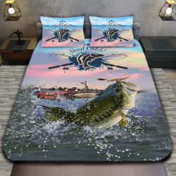 3D луксозен спален комплект Fishing