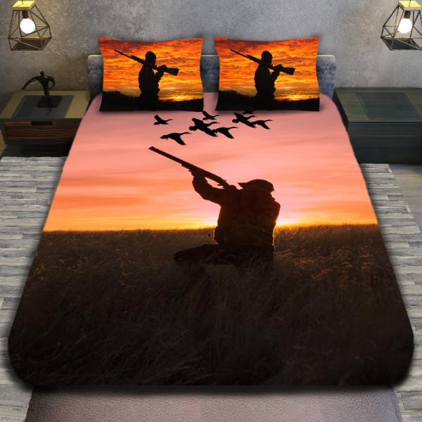 3D луксозен спален комплект Hunter duck