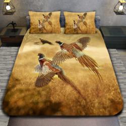 3D луксозен спален комплект Gold Pheasant