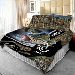 3D луксозен спален комплект 7399