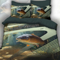 3D луксозен спален комплект лов и риболов Carp Hanter