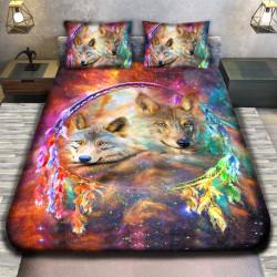 3D луксозен спален комплект  WOLF
