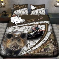 3D луксозен спален комплект ЛОВЕЦ