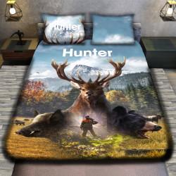 3D луксозен спален комплект HUNTER