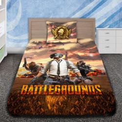 3D луксозен спален комплект Battle Graunds
