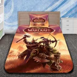3D луксозен спален комплект War Craft