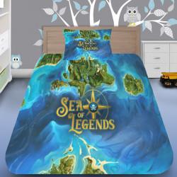 3D луксозен спален комплект Sea Of Legends