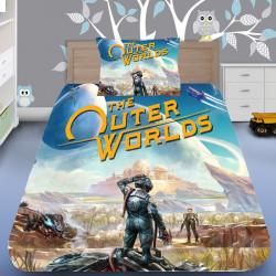 3D луксозен спален комплект The Outer World