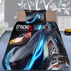 3D луксозен спален комплект GT Racing 2