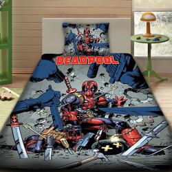 3D луксозен спален комплект DEADPOOL