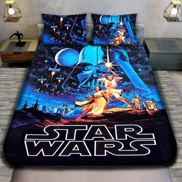 3D луксозен детски спален комплект  STAR WARS