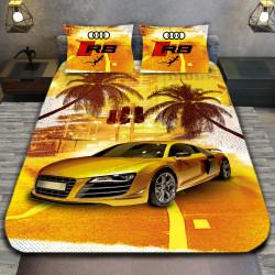3D луксозен спален комплект Audi Sandy color
