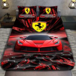 3D луксозен спален комплект Ferarri