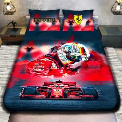 3D луксозен спален комплект FERRARI F1