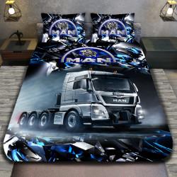 3D луксозен спален комплект с камион Man