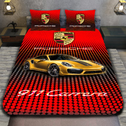 3D луксозен спален комплект Porche