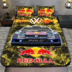 """3D луксозен спален комплект """"Volkswagen Redbull """""""