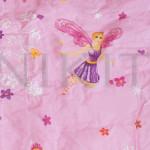 Комплект от спално бельо за бебе Розова Фея