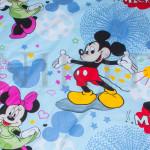 Комплект от спално бельо за бебе Minnie and Mickey Mouse 2