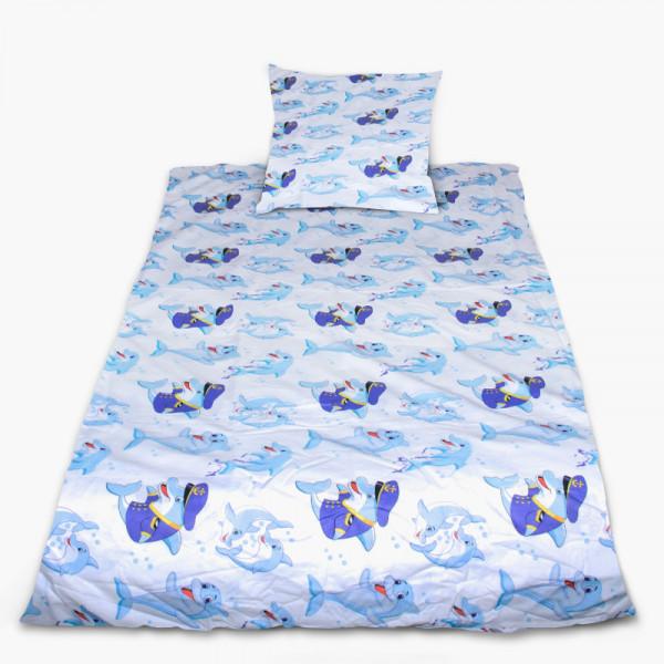 Комплект от спално бельо за бебе Home, sweet home