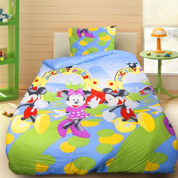 Детски спален комплект с Mickey and Minnie mouse 2