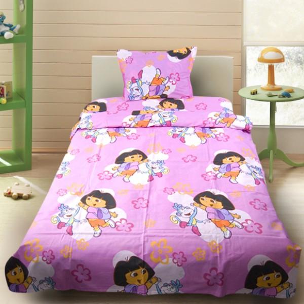 Комплект от детско луксозно спално бельо момиче