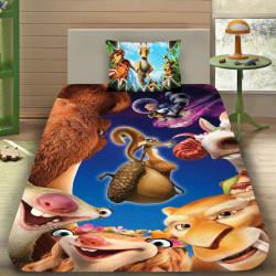 3D луксозен детски спален комлект ICE AGE