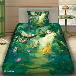 3D луксозен детски спален комплект с The Lion King 2