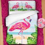 3D луксозен детски спален комплект ''Flamingo''