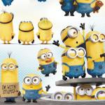 3D луксозен детски спален комплект ''One in a Minion''