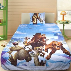 3D луксозен детски спален комплект Ice Age