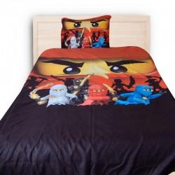 3D луксозен детски спален комплект с Ninjago