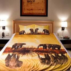 3D луксозен детски спален комплект Safari