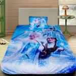 3D луксозен детски спален комплект Frozen