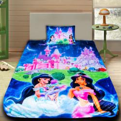 3D луксозен детски спален комплект принцеса Ясмин