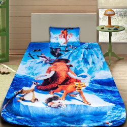 3D луксозен детски спален комплект Ледена епоха