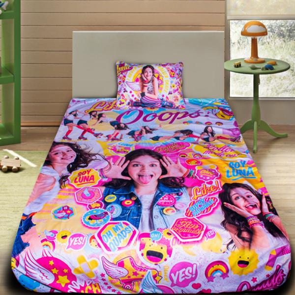 3D луксозен детски спален комплект Сой Луна