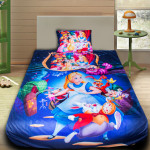 3D луксозен детски спален комплект Алиса в страната на чудесата 2