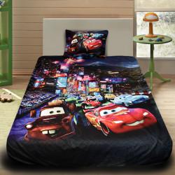 3D луксозен детски спален комплект Mc Queen