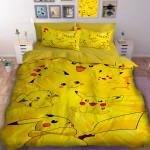 3D детски спален комлект Pokemon