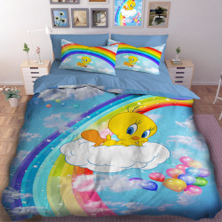 3D детски спален комлект Туити