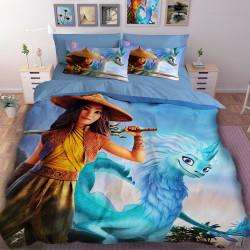 3D детски спален комлект с принцеса Рая