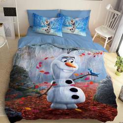 3D детски спален комлект със Снежен човек