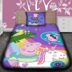 3D луксозен детски спален комплект Peppa Pig