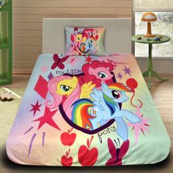 3D луксозен детски спален комплект Pony 1