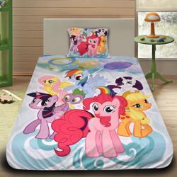 3D луксозен детски спален комплект Pony 2